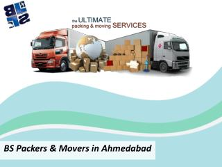BS Packers & Movers in Ahmedabad