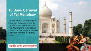 10 Days Carnival of Taj Mahotsav