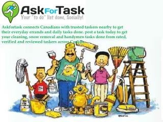 Ask For Task Verified Local Services Providers
