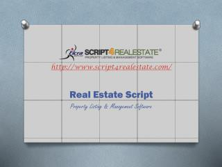 Real Estate Script by Eicra Soft