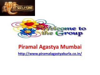Piramal Agastya Mumbai