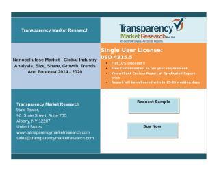 Nanocellulose Market - Global Industry Analysis,  Forecast 2014 - 2020..PDF