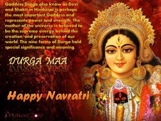 Navratri: Nine Forms of Goddess Durga