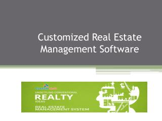 Customized Real Estate Management Software India