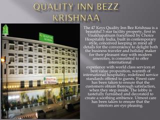 Hotel Quality Inn Bezz Krishnaa