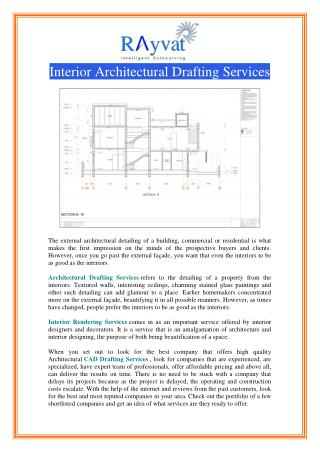 Interior Architectural Drafting Services