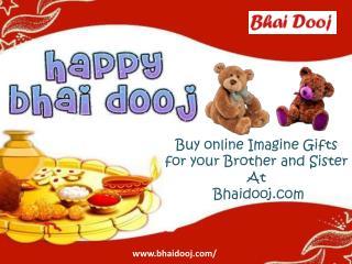 Bhai dooj gifts for brother @ bhaidooj.com!