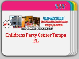 Childrens Party Center Tampa FL
