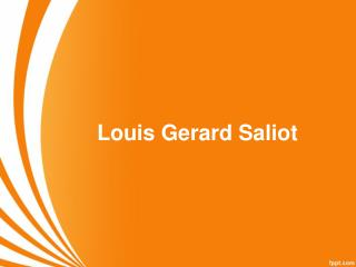 Louis Gerard Saliot  | Euro Asia Mgmt Group