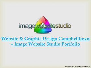Website and Graphic Design Campbelltown – Image Website Studio Portfolio