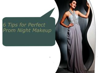 6 Tips for Perfect Prom Night Makeup