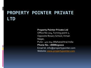 flats in panchshil tower pune