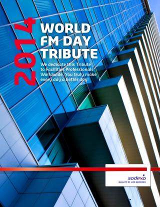 World Facilities Management Day Tribute 2014