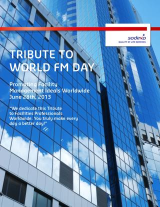 Tribute to World FM Day 2013