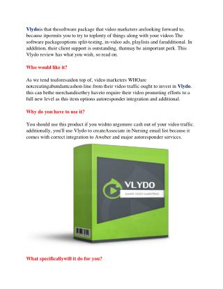 vlydo the best video marketing app