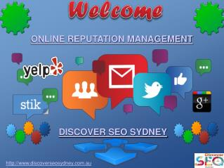 Online Reputation Management in Sydney