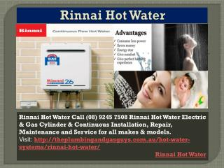 Rinnai Hot Water