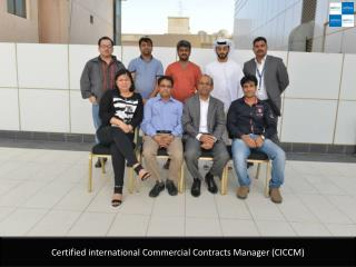 Certified international Commercial Contracts Manager (CICCM)
