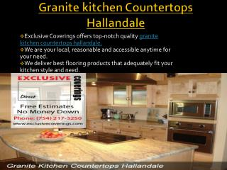 Get Granite kitchen Countertops Hallandale