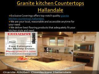 Get Granite kitchen Countertops Hallandale