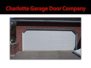 Garage Door Opener Repair Charlotte NC