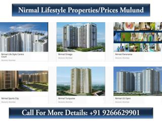Nirmal Lifestyle Properties/Prices Mulund