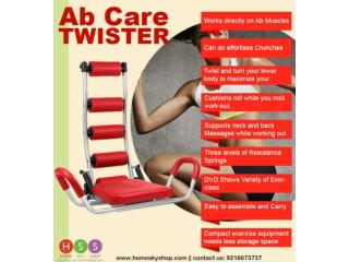 Double Benefits Of Ab Rocket/Care Twister