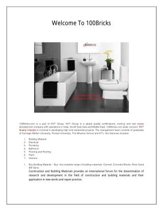 Buy Construction Materials Online