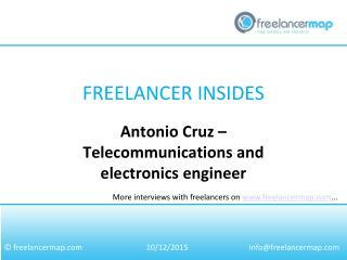 Antonio Cruz - Telecommunications and Electronics Engineer