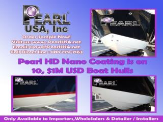 A Non-Solvent Ceramic Coating-Pearl Bulletproof Nano Coatings
