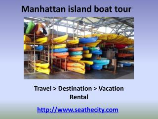 Manhattan boat tour