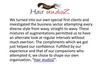 Hair studioz- hair extensions