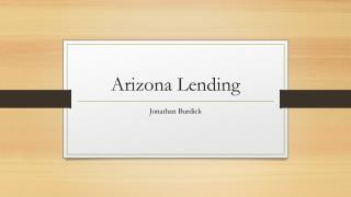 Arizona Lending