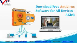 Free Antivirus Software Downloads for All Devices - AKick