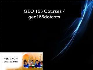 GEO 155 Courses / geo155dotcom