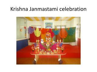 Krishna Janmastami celebration #ykrok