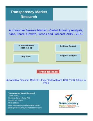 Automotive Sensors Market -