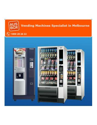Vending Machines Specialist in Melbourne