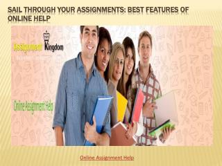 Best Features of Online Help