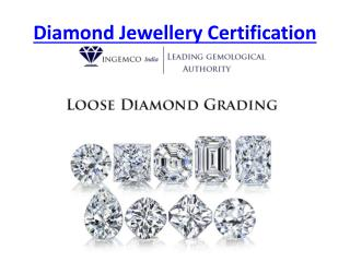 Loose Daimond Certification
