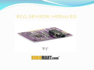 ECG Sensor Modules - Robomart