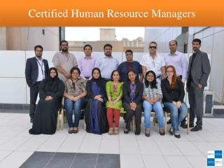 Certified Human Resource Managers