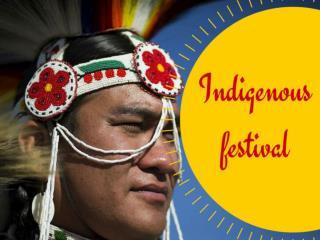 Indigenous festival