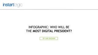 Who Will be the Most Digital President? - Instart Logic