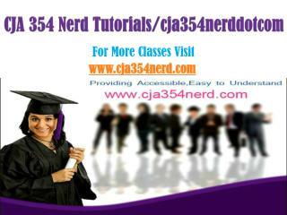 CJA 354 Nerd Tutorials/cja354nerddotcom