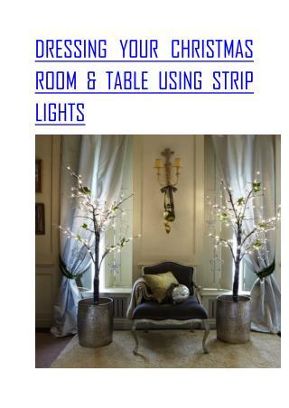 Strip Light up Chirstmas