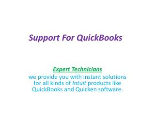 Many Advantages Of Quickbooks Tech-Support Telephone Number