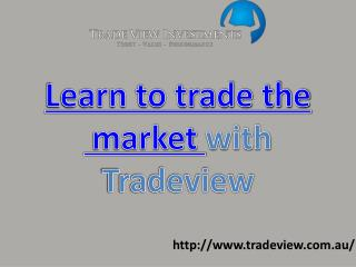 Tradeview - One home to all your Trading Solutions