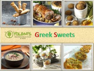 Greek Sweets | yolenis.us