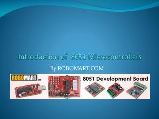 8051 Microcontroller Board